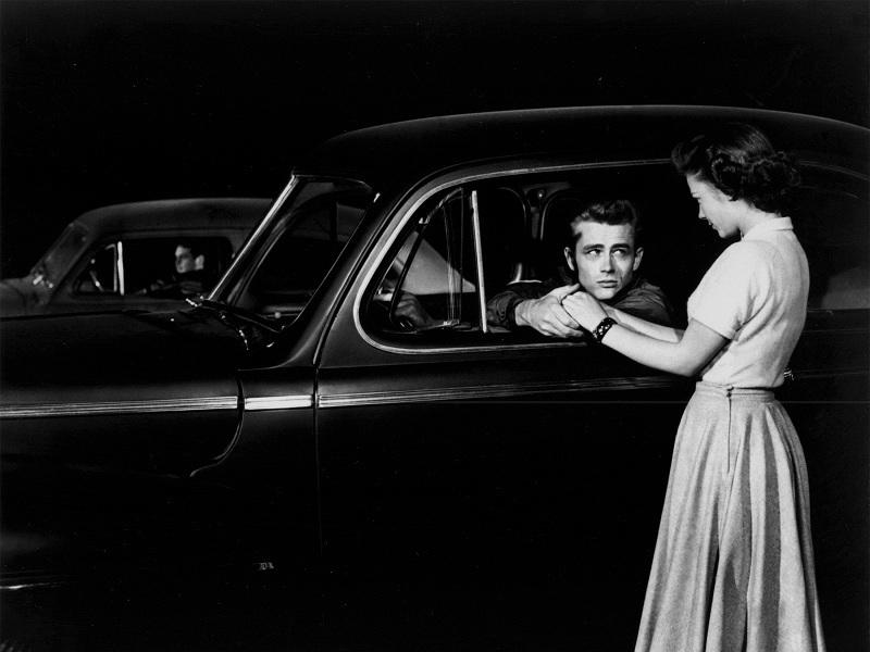 James Dean in 'Rebel Without A Cause'