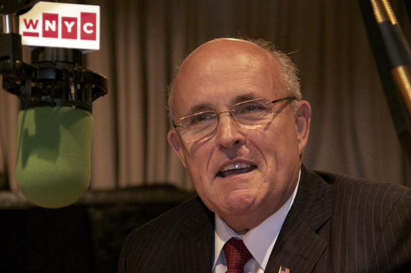 Former New York City Mayor Rudolph Giuliani in the studio to talk about his love of opera.