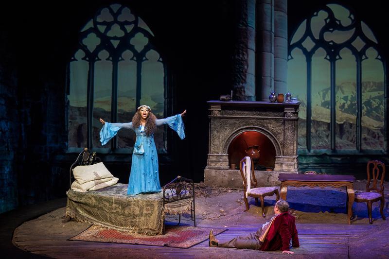 New York City Opera's production of 'La Campana Sommersa' featuring Brandie Sutton and Fabio Armiliato.