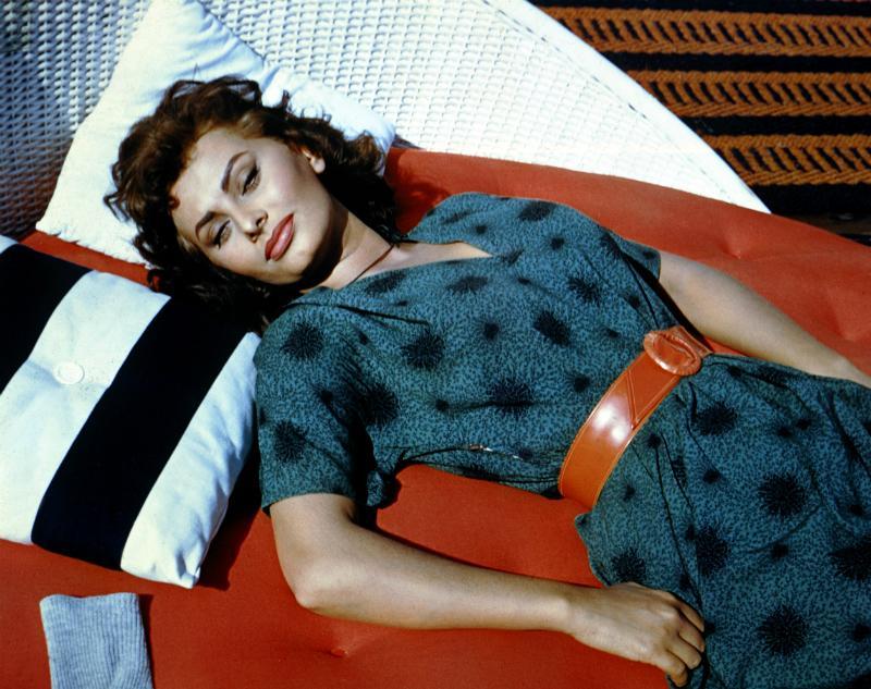 Sophia Loren in 'Boy on a Dolphin'
