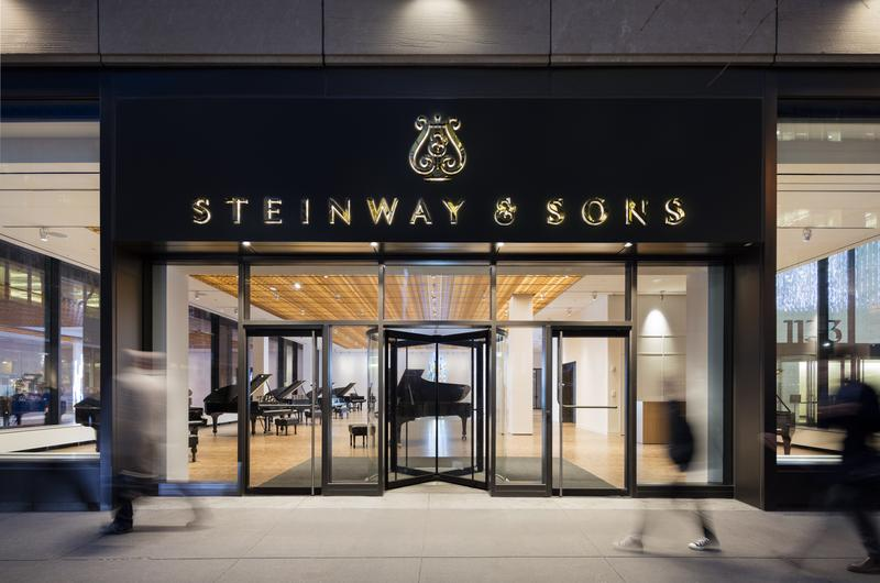 The new Steinway flagship store has opened on Avenue of the Americas.