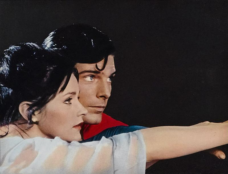 Margot Kidder and Christopher Reeve in 1978's 'Superman'