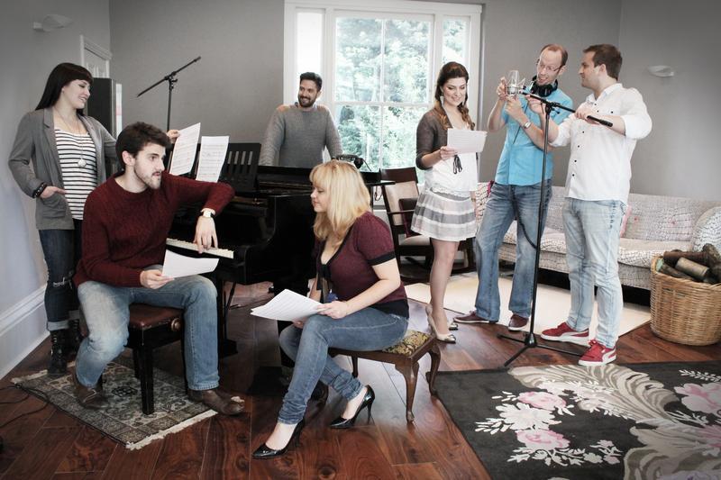 The Swingle Singers.
