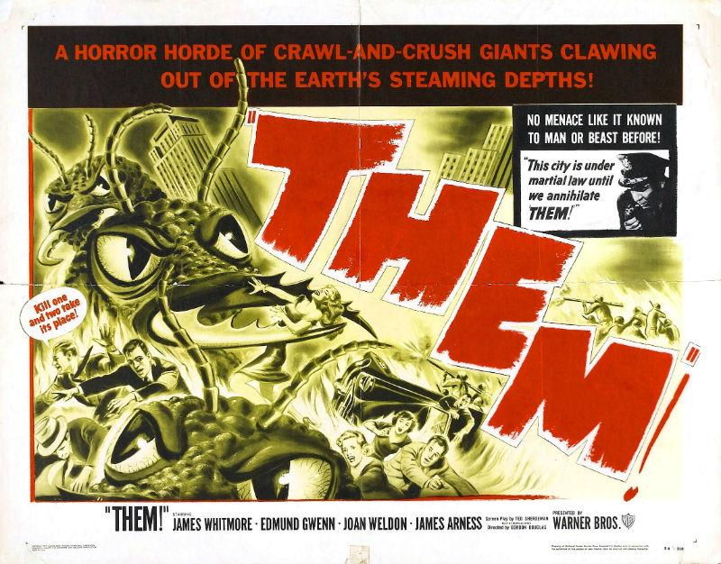 When the giant ants of 'Them!' arrived in theaters