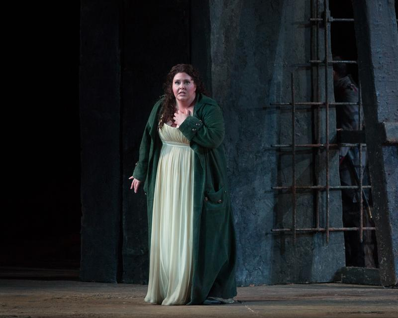 Angela Meade as Leonora in Verdi's 'Il Trovatore' at the Metropolitan Opera.