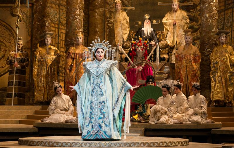Christine Goerke in the title role of Puccini's 'Turandot'