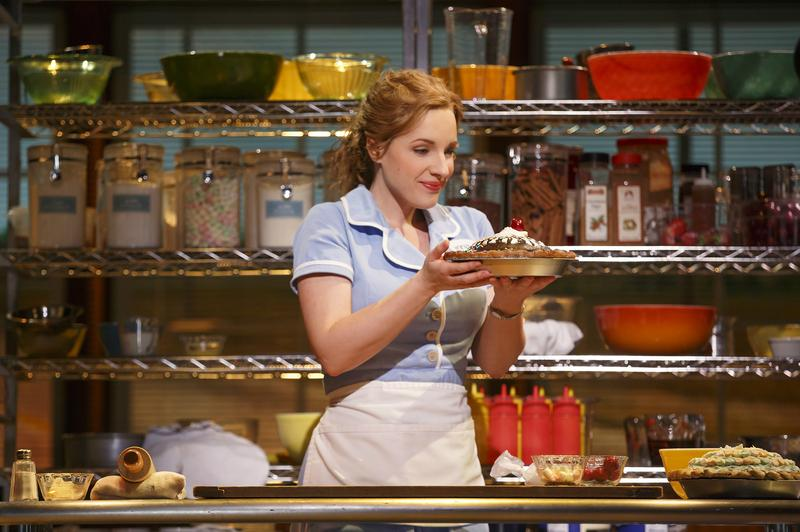 Jessie Mueller stars in the Broadway musical, 'Waitress.'