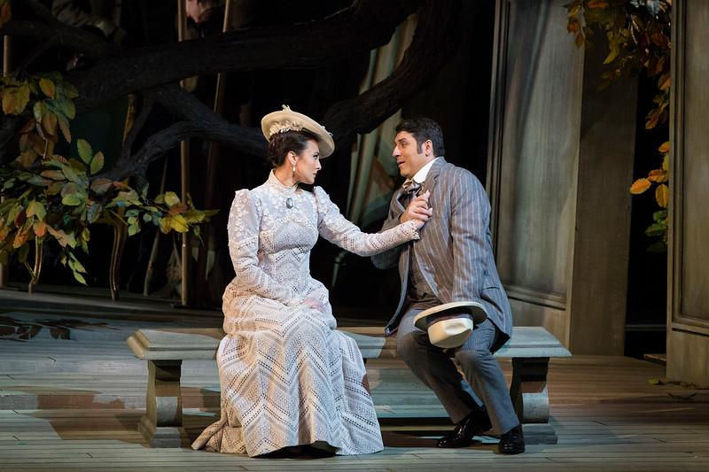 Isabel Leonard as Charlotte and David Bizic as Albert in Massenet's 'Werther.'