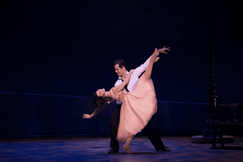 Leanne Cope and Robert Fairchild in 'An American in Paris'