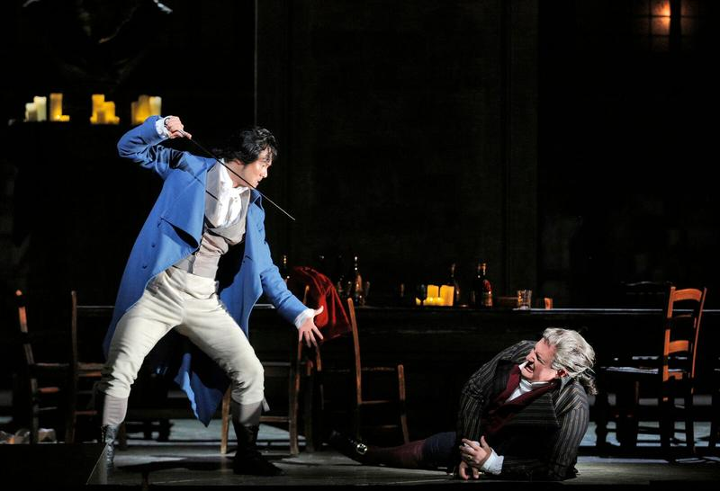 """Yonghoon Lee in the title role of Umberto Giordano's """"Andrea Chernier"""""""