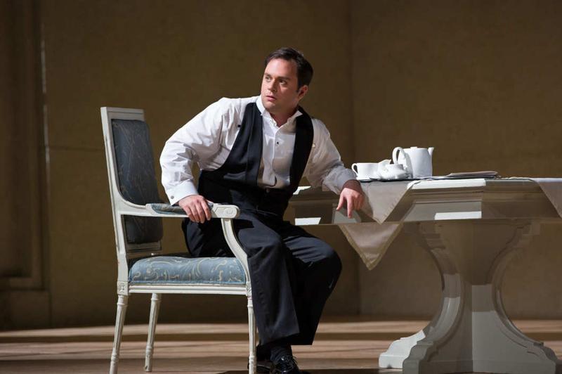 Paul Appleby in a Met Opera production of Stravinsky's 'The Rake's Progress.'