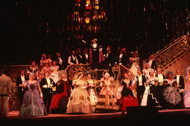 """A scene from a 1980 San Francisco Opera performance of Strauss' """"Arabella"""""""