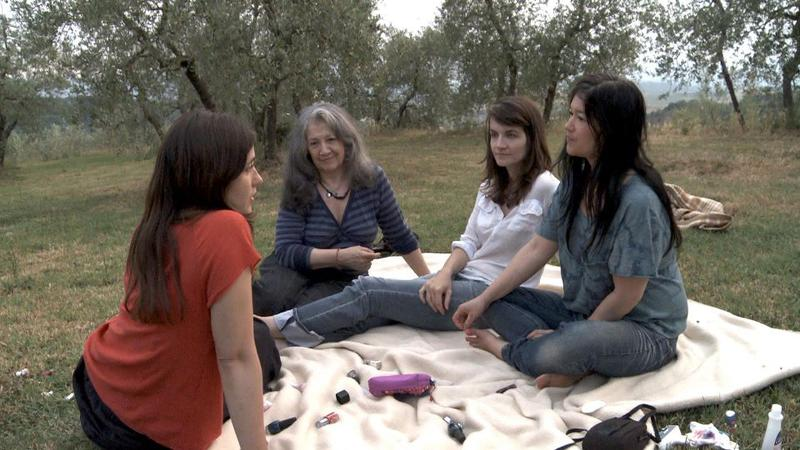 A scene from 'Bloody Daughter,' a film about Martha Argerich