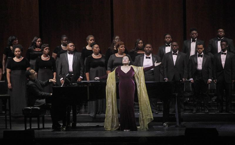 Kathleen Battle returns to the Met performing a concert of spirituals, Underground Railroad – A Spiritual Journey, with The Voices of the Underground Railroad.