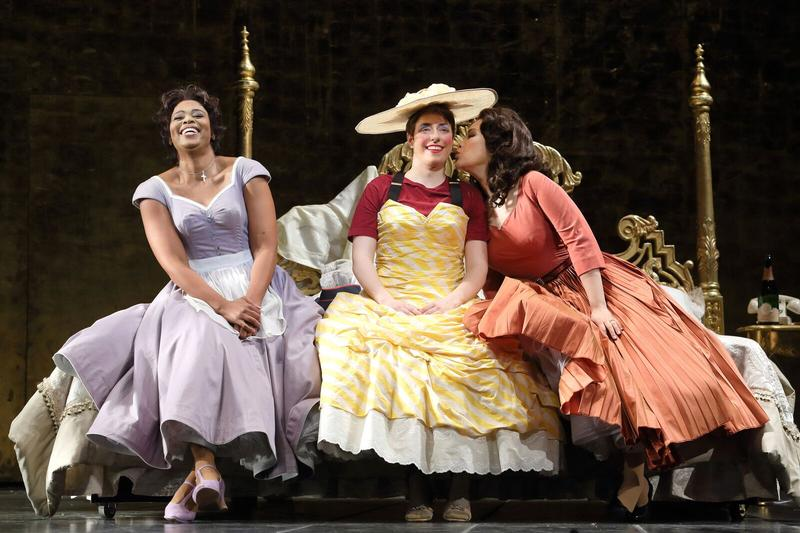 """A scene from an LA Opera production of Mozart's """"The Marriage of Figaro"""""""