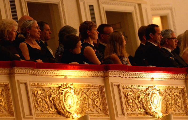 During the Carnegie Hall 125th season opening night gala at Carnegie Hall on October 7, 2015