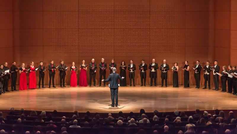 "The Tallis Scholars, the Choir of Trinity Wall Street, the Netherlands Chamber Choir and the Norwegian Soloists' Choir perform Tallis' ""Spem in Alium"""