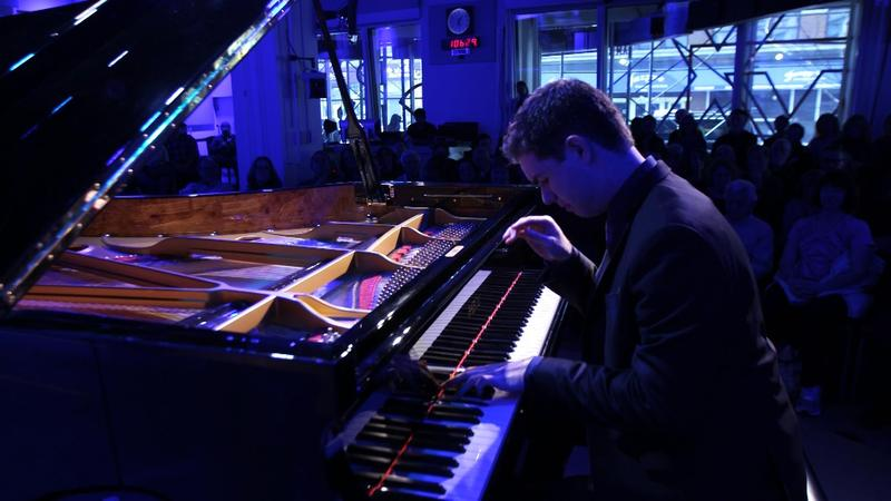 Pianist Drew Petersen in The Greene Space