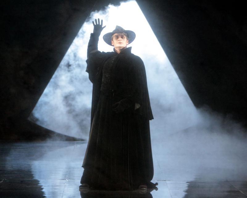 Tomas Tomasson stars as the Dutchman in Wagner's Flying Dutchman presented by Los Angeles Opera