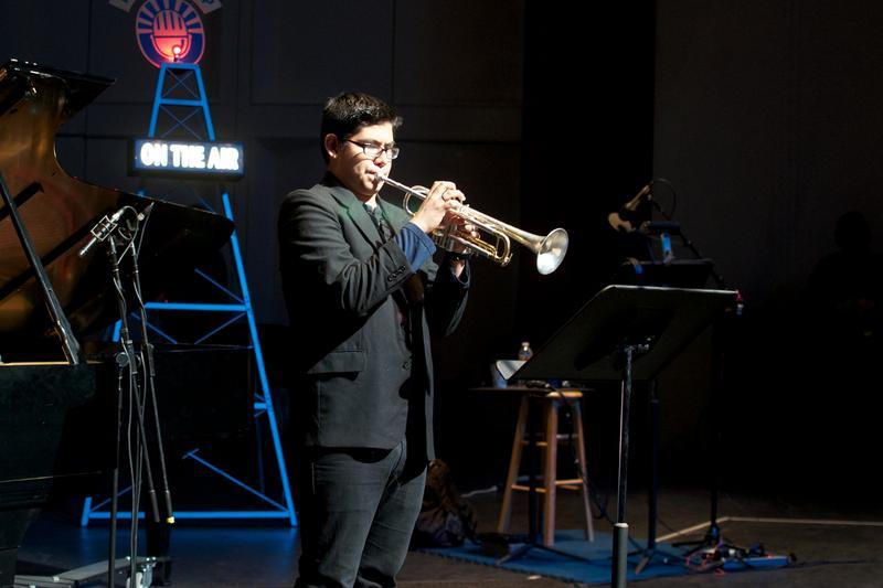 Elmer Churampi Performing at Centennial Hall