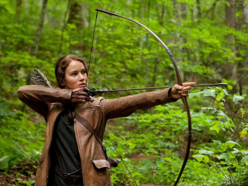 """Jennifer Lawrence stars in """"The Hunger Games: Catching Fire"""""""