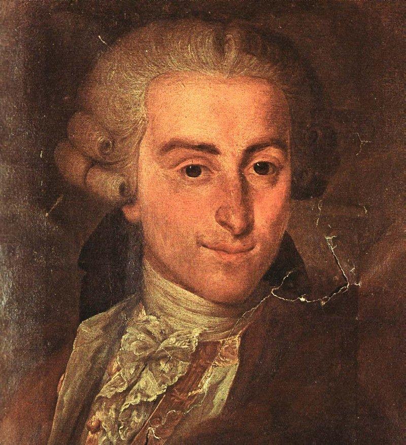 Italian composer Giovanni Battista Sammartini.
