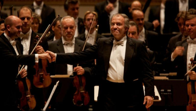 Valery Gergiev at Carnegie Hall.