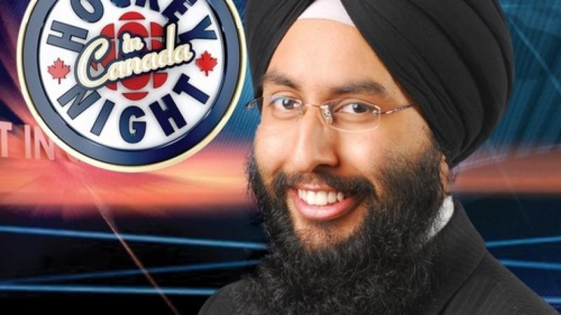 The Best Announcer in Hockey Calls Games in Punjabi | The