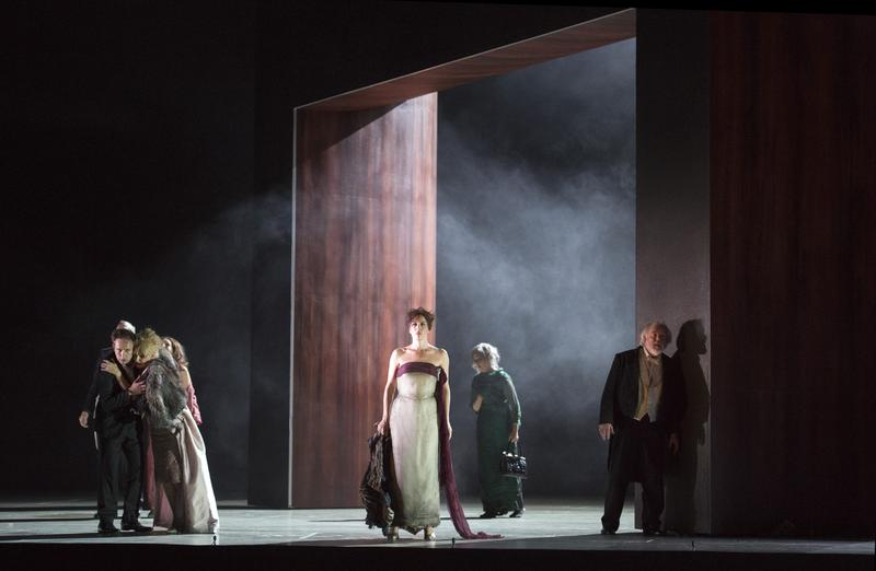 A scene from Tom Cairn's new production of Thomas Adès's The Exterminating Angel.