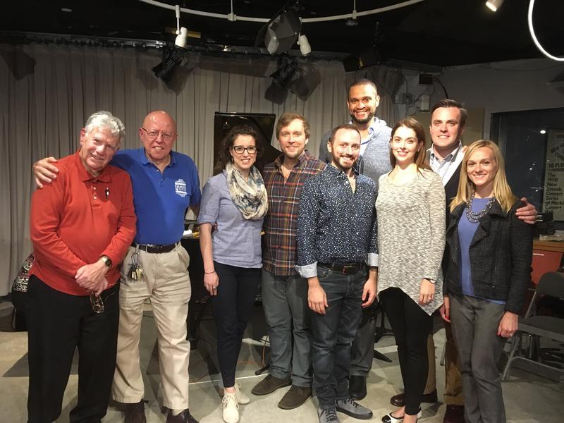 Bob Sherman and members of NYGASP