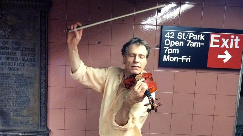 Violinist James Graseck.