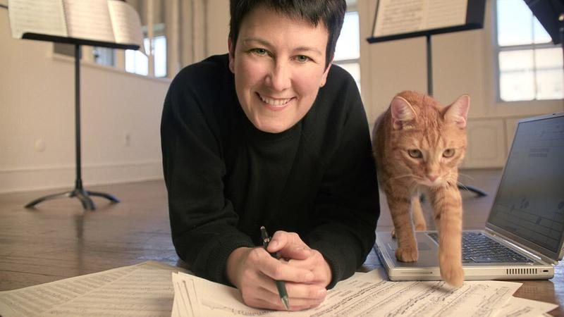 Jennifer Higdon, award-winning composer.