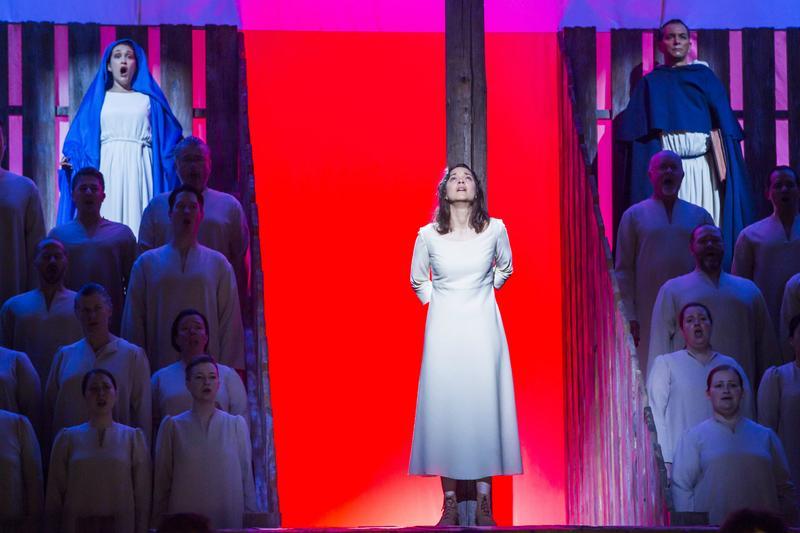 Marion Cotillard in 'Jeanne d'Arc au bucher' at the New York Philharmonic