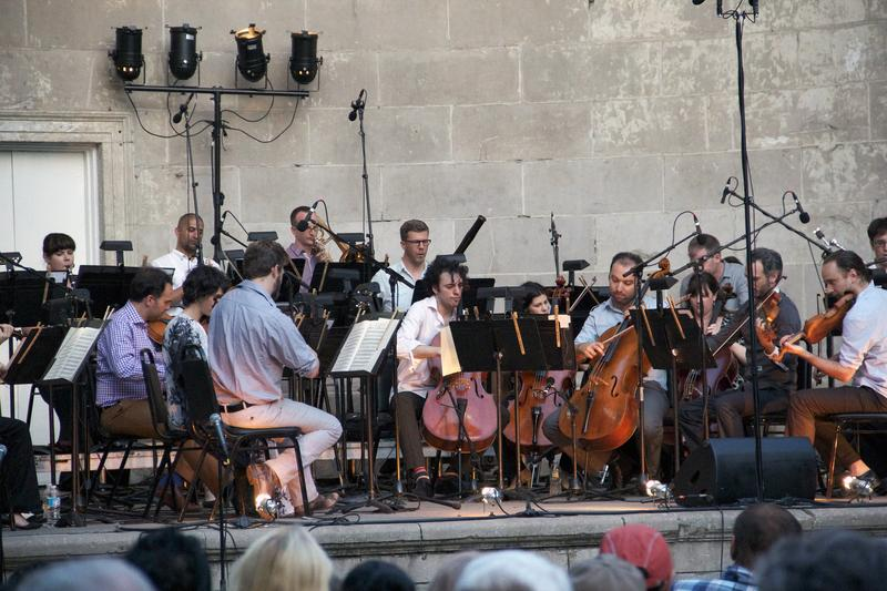 The Knights perform at the Naumburg Bandshell in Central Park on June 26, 2013.