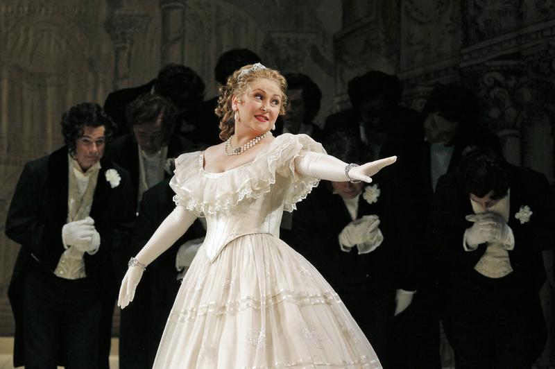Karine Deshayes as Angelina (Cinderella) in 'La Cenerentola'