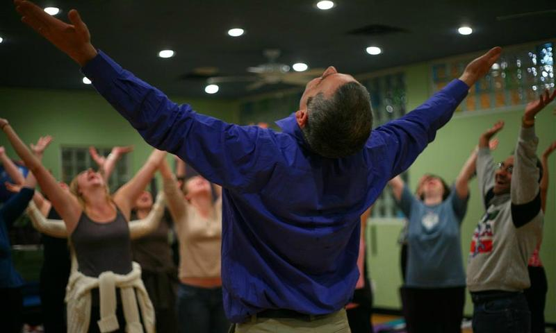 Going to Laughter Yoga, Part One | Studio 360 | WNYC