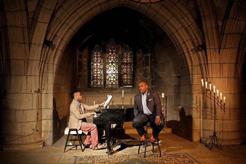 Lawrence Brownlee and Damien Sneed perform at The Crypt Sessions