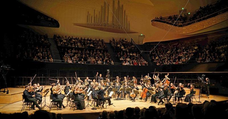 Les Dissonances, a conductor-less orchestra