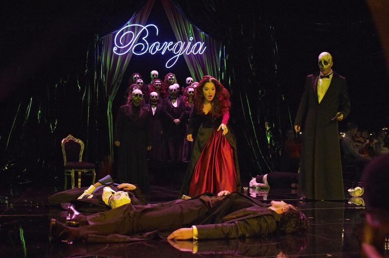Donizetti's <em>Lucrezia Borgia</em> from the Royal Theatre of the Mint in Brussels.