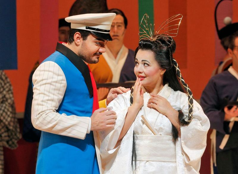"A scene from Puccini's ""Madama Butterfly"""