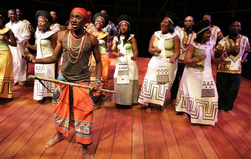 Isango Ensemble, a South African theater company, adapts Mozart's 'Magic Flute'