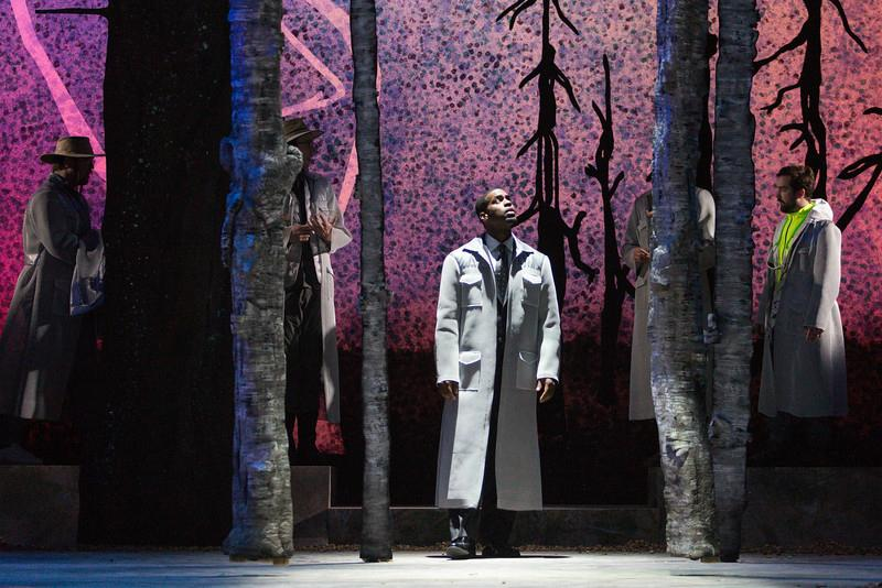 Soloman Howard as Sarastro in Glimmerglass's 2015 production of Mozart's 'The Magic Flute'