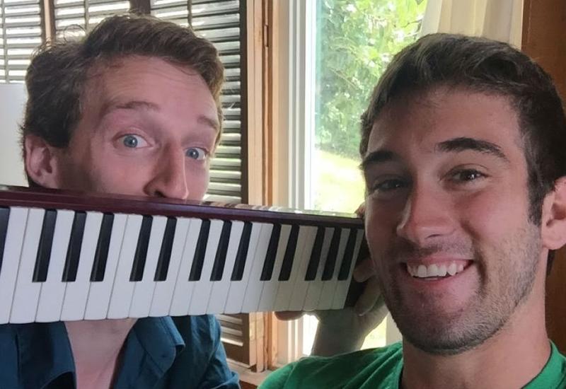 Melodica Men Joe Buono and Tristan Clarke
