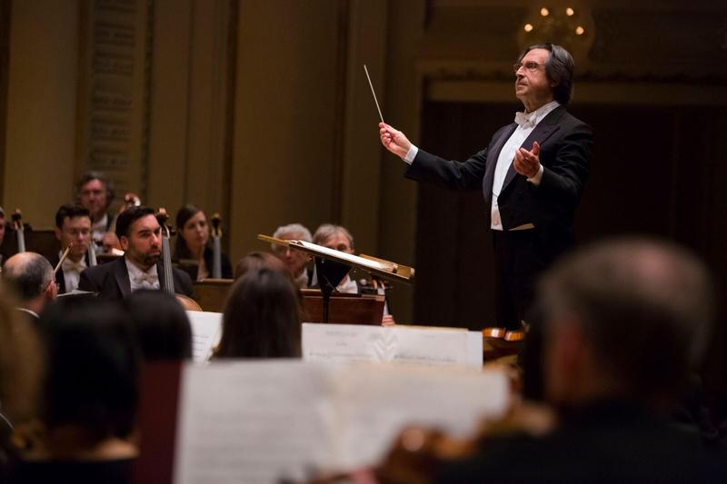 Riccardo Muti, director of the Chicago Symphony Orchestra