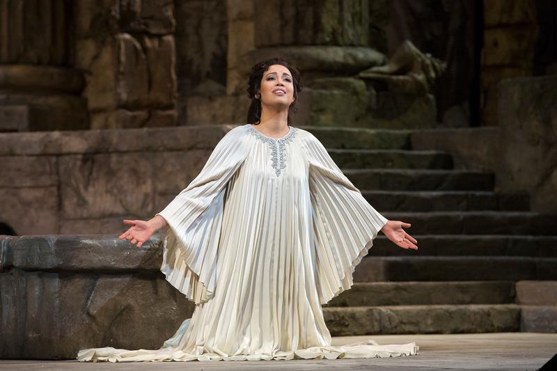 Nadine Sierra as Ilia in Mozart's Idomeneo.
