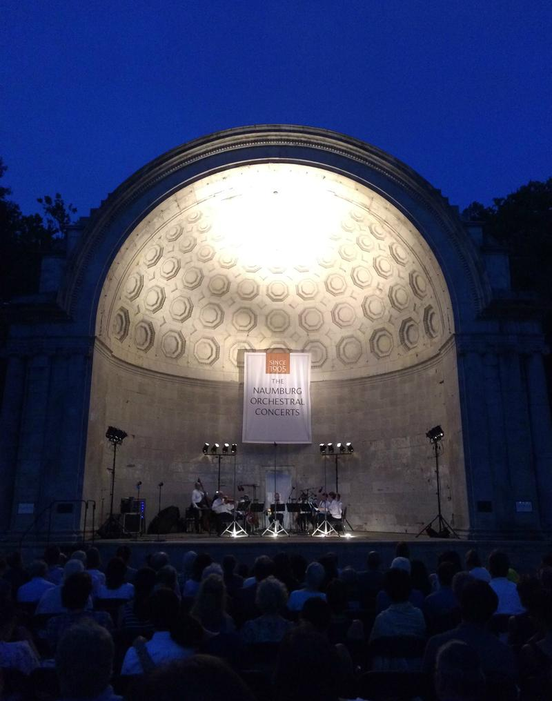 The Boston Symphony Chamber Players at the Naumburg Bandshell on July 14, 2015