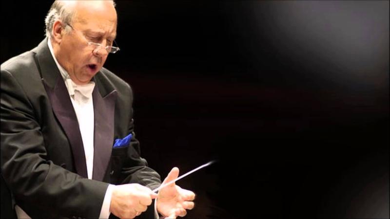 Conductor Neeme Järvi.