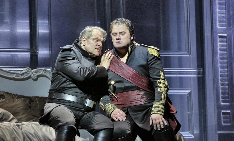 Željko Lučić as Iago and Aleksandrs Antonenko in the title role of Verdi's 'Otello'