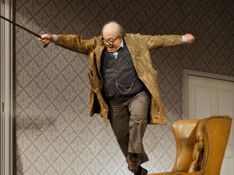 """A scene from the SFO's production of """"Don Pasquale"""""""
