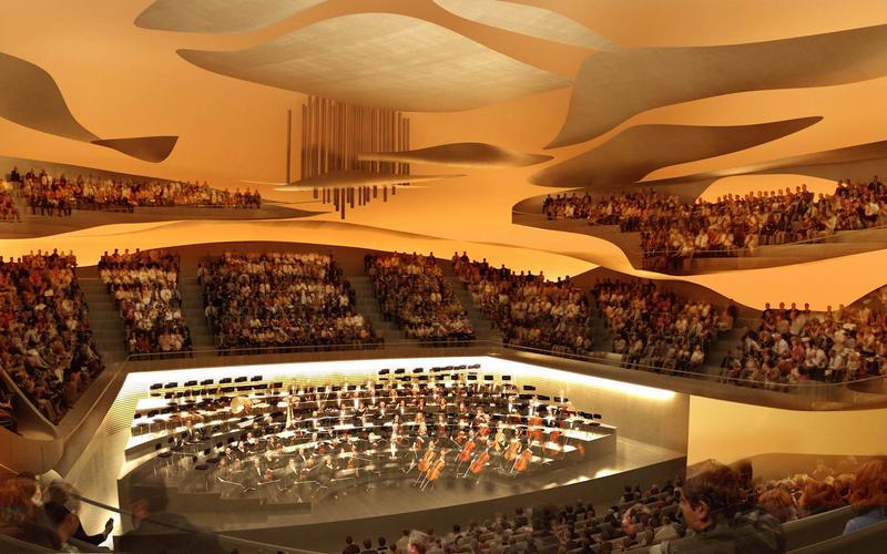Philharmonie de Paris, Interior of the Grand Salle